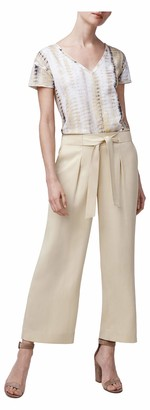 b new york Women's Tie Waist Culotte