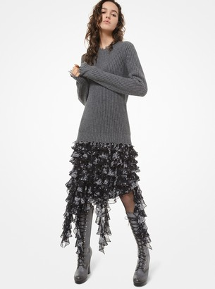 Michael Kors Distressed Cashmere Sweater