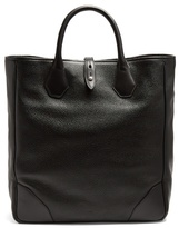 Dunhill Boston leather tote