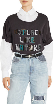 Sass & Bide No Place Like Nature Tee