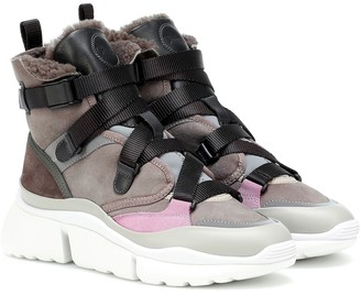Chloé Exclusive to Mytheresa Sonnie high-top sneakers