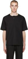 Phoebe English Black Poplin T-shirt