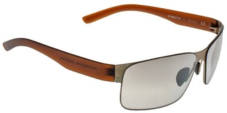 Porsche Design Brown/Gold P8573 Sunglasses