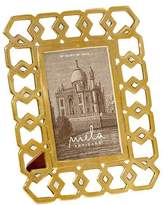 Mela Artisans Monroe 4X6 Frame Mother of Pearl and Brass
