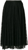 Blugirl long lace skirt