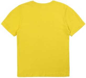 HUGO BOSS Boys Short Sleeve Large Logo T-Shirt - Yellow