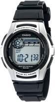Casio Men's Basic and Silver Watch Digital W213-1ACF