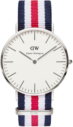 Daniel Wellington Classic Canterbury 40mm Silver Watch