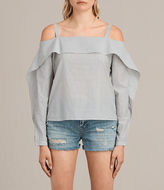 AllSaints Khan Stripe Top