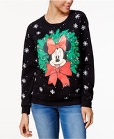 Freeze 24-7 Juniors' Minnie Mouse Light-Up Sweatshirt