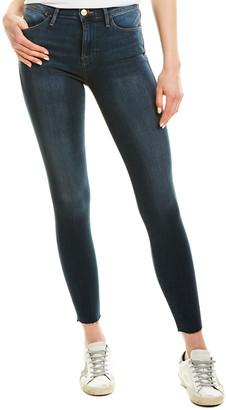 Frame Washed Stretch Dark Blue Skinny Leg