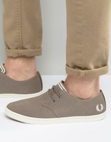 Fred Perry Byron Low Twill Sneakers