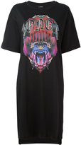 Marcelo Burlon County of Milan Noemi T-shirt dress - women - Cotton - XXS
