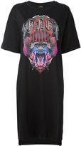 Marcelo Burlon County of Milan Noemi T-shirt dress - women - Cotton - XXS