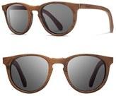 Shwood Men's 'Belmont' 48Mm Wood Sunglasses - Walnut