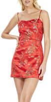 MinkPink Red Dragon Mini Dress