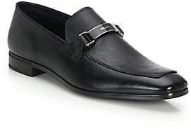 Prada Men's Saffiano Leather Loafers
