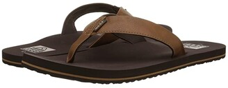 Reef Twinpin (Black) Men's Sandals