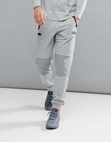 Ellesse Sport Joggers With Ribbed Panels