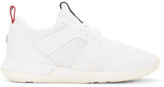 Moncler White Meline Sneakers