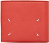 Maison Margiela Red Bifold Wallet