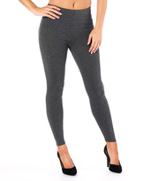 Missy Empire Dina Charcoal Plain Legging