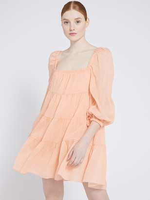Alice + Olivia Rowen Tiered Mini Dress