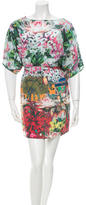 Issa Silk Floral Print Dress