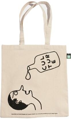 Plinth - David Shrigley Creative Health Tote Bag Culture