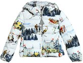 Moncler Recallis St. Moritz Nylon Down Jacket