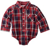 Mud Pie Flannel Plaid Collared Crawler Boy's Jumpsuit & Rompers One Piece