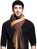 JESSE · RENA Men's Long Scarf Soft Warm Thick Knit Winter Scarves