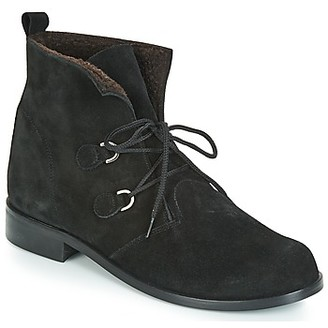 So Size JATTINE women's Mid Boots in Black