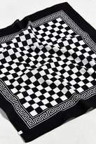 Urban Outfitters Black + White Checkered Bandana
