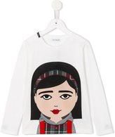 Dolce & Gabbana 'DG Family' top - kids - Silk/Cotton/Virgin Wool - 6 yrs