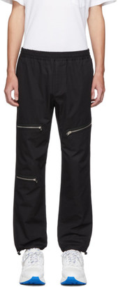 Stella McCartney Black Peter Zip Trousers