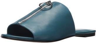 Via Spiga Women's Hope Zipper Flat Sandal
