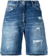 Dondup distressed denim shorts - women - Cotton - 25