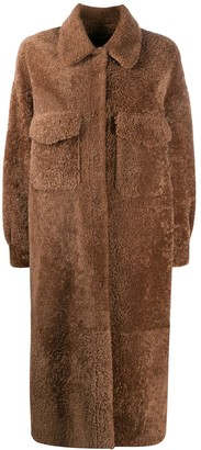 Simonetta Ravizza Single-Breasted Coat