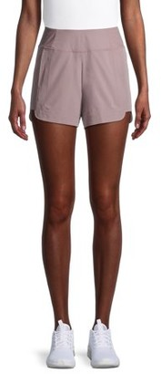 Layer 8 Women's Athleisure Commuter Track Shorts