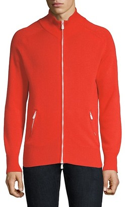 Eleventy Cashmere Full-Zip Sweater