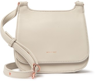 Matt & Nat Luna Vegan Leather Mini Loom Crossbody Bag