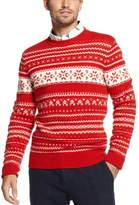 fair isle men sweater red - ShopStyle