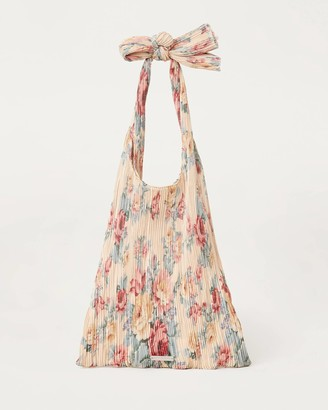 Loeffler Randall Bex Bow Shoulder Bag Floral