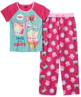 Girls 4-10 Num Noms Candie Puffs, Van Minty & Connie Confetti Scented Pajama Set
