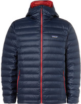 Patagonia Quilted Shell Hooded Down Jacket