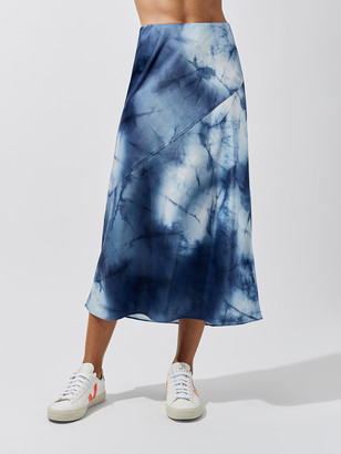 Carbon38 Silky Bias Cut Skirt