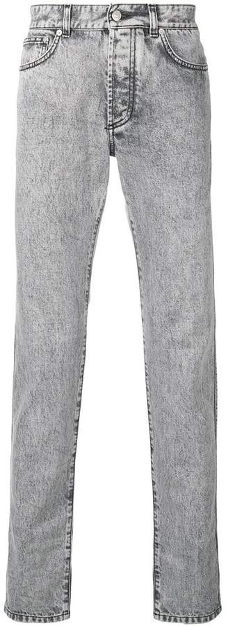Givenchy acid wash jeans