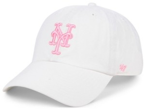 '47 New York Mets White Rose Clean Up Cap