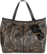 Patricia Nash Laser Lace Zola Top Zip Satchel